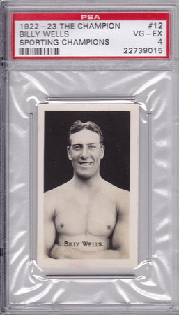 Billy Wells PSA 4