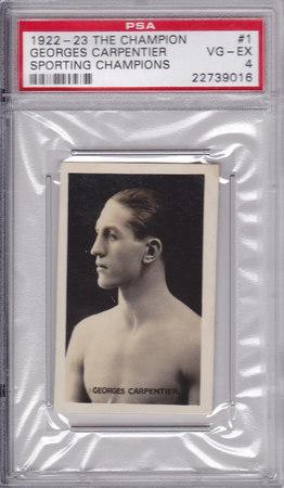 George Carpentier PSA 4