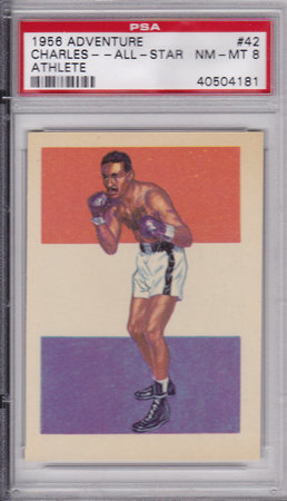 Ezzard Charles All-Star-Athlete PSA 8
