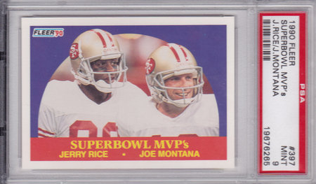 Joe Montana Jerry Rice