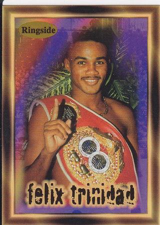 Felix Trinidad ROOKIE