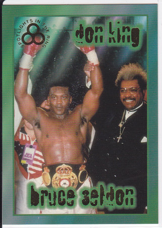 Bruce Seldon & Don King GOLD