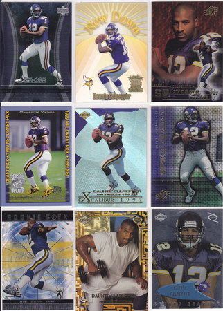 Daunte Culpepper Lot of 9
