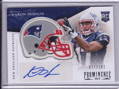 Aaron Dobson 077/102