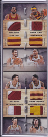 Cleveland Cavs Crazy Eights 10/25