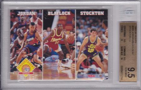 Michael Jordan, Blaylock, John Stockton