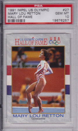 Mary Lou Retton PSA 10
