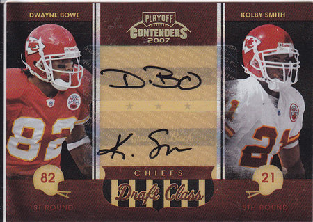 Dwayne Bowe, Kolby Smith
