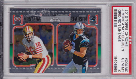 Jimmy Clausen, Joe Montana