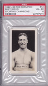 1922-23 Billy Wells PSA 4