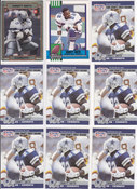 Emmitt Smith Lot of 9