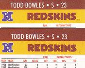 1990 Todd Bowles