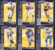 1995 Collectors Choice Crash the Game Silver Set