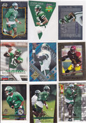 1996 Keyshawn Johnson Lot of 9