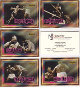 1996 Ringside Series 1 Fight Card Set