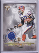 2001 Antowain Smith Sammy Morris