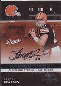 2007 Brady Quinn SP /534