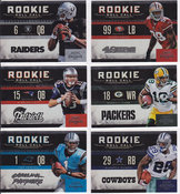 2011 Playoff Contenders Rookie Roll Call Set