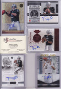 Terrelle Pryor 5 Card Autograph Lot