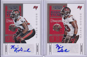 2012 Najee Goode SP Lot of 2