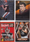 2014 Johnny Manziel 4 Card Lot