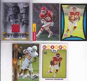 2008 Jamaal Charles rookie lot