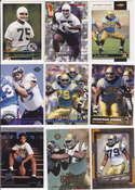 1996 Jonathan Ogden rookie lot