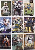 1996 Jonathan Ogden rookie lot