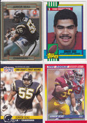 1990 Junior Seau rookie lot 4