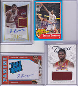 2011-12 Tristan Thompson 4 Card Lot