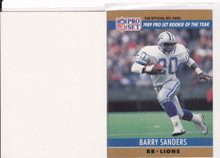 1990 Pro Set Football Errors And Variations