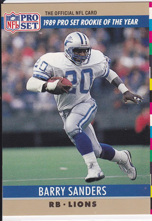 1990 ProSet Barry Sanders