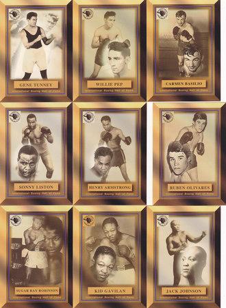 Ringside Boxing Hall of Fame set
