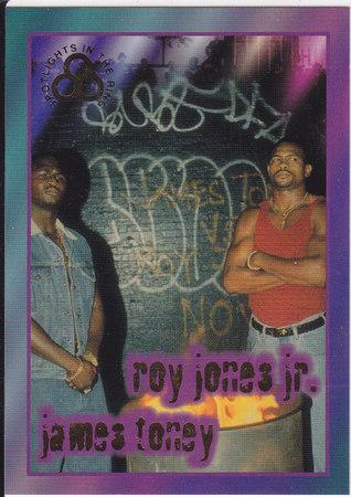 Roy Jones Jr & James Toney GOLD