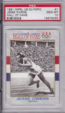 Jesse Owens PSA 10