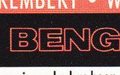 "1990 Bengals Chipped ""E"" Lot"