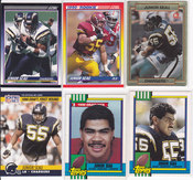 1990 Junior Seau rookie lot 6